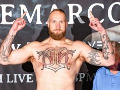 Robert 'The Nordic Nightmare' Helenius. Photo Credit: Boxing Scene