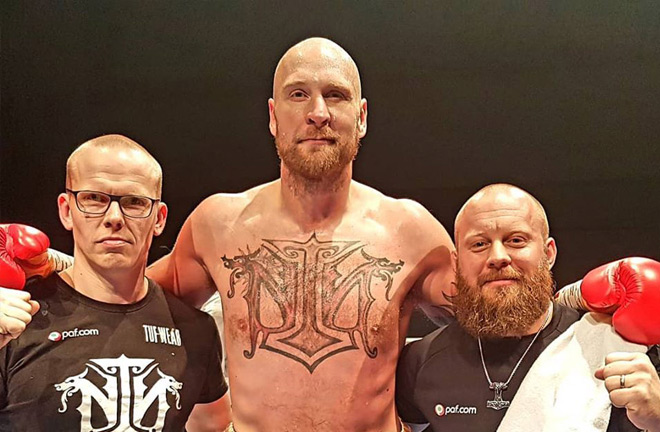 Helenius and his team are hunting World titles and want them sooner rather than later. Photo Credit: Finland Today