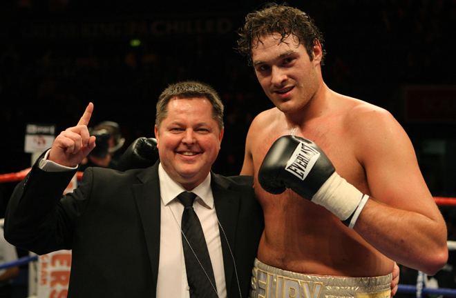 Mick Hennessy guided Tyson Fury to his first World title Photo Credit: PA