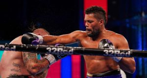 Joe Joyce put in a powerful display to see of Michael Wallisch in three rounds on Saturday Photo Credit: Queensberry Promotions
