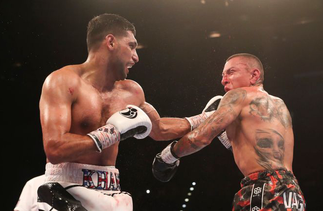 Vargas was beaten in a spirited performance against Amir Khan in 2018 Photo Credit: www.ringnews24.com