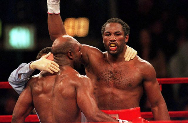 Lennox Lewis, an enigma. Photo Credit: Boxing News