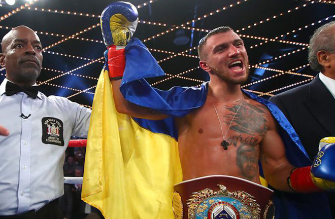 Verdejo is hoping to renew hostilities with unified Lightweight World champion Vasiliy Lomachenko Photo Credit: Mikey Williams/Top Rank