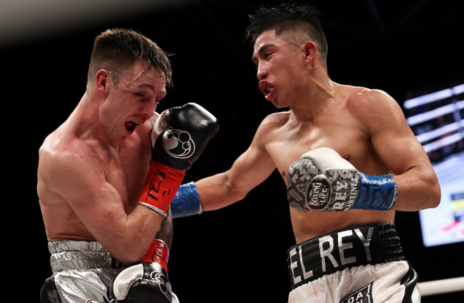 Julio Cesar Martinez will defend his WBC Flyweight title after beating Jay Harris in February Photo Credit: Ed Mulholland