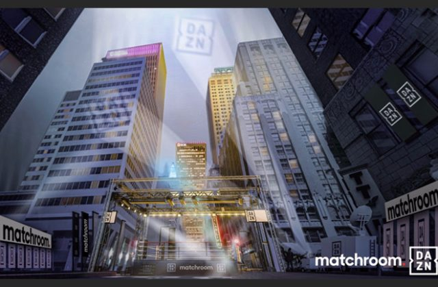 Matchroom have announced their USA return in the streets of Tulsa on August 15 Photo Credit: Matchroom Boxing