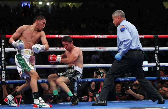 Ortiz Jr has flourished in the professional game scoring 15 straight KOs Photo Credit: Boxing Scene