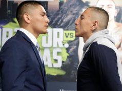 Vergil Ortiz and Samuel Vargas clash in Golden Boy's return in Indio on Friday night Photo Credit: www.boxingnews24.com