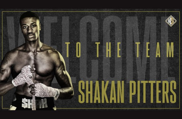 Shakan Pitters has signed a long-term promotional deal with Mick Hennessy Photo Credit: Hennessy Sports