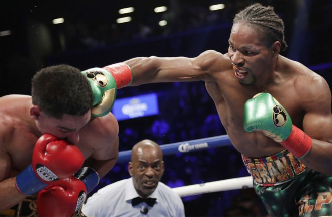 Walker has been training alongside former two-time Welterweight World champion Shawn Porter Photo Credit: rank Franklin II / Associated Press via LA Times