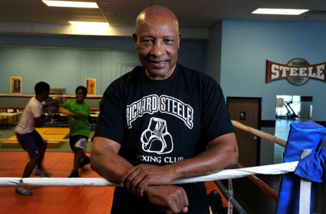 Richard Steele has refereed some of the most famous fights in boxing history Photo Credit: David Becker/Las Vegas Review Journal
