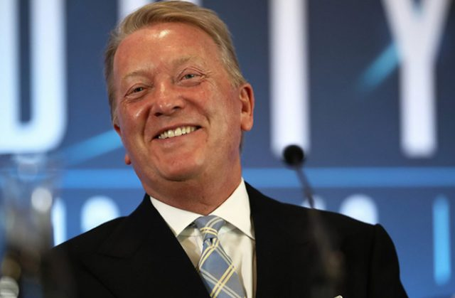 Frank Warren will lead boxing's UK resumption on Friday night at the BT Sport studios Photo Credit: www.essentiallysports.com