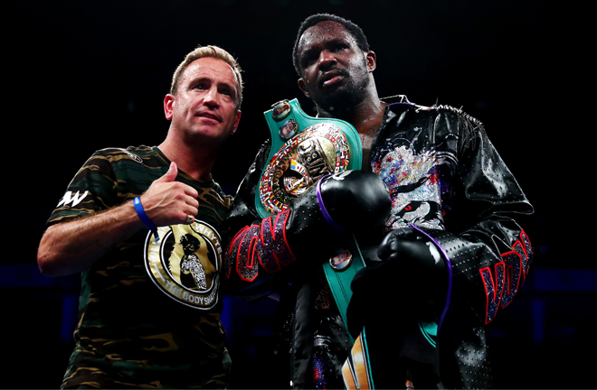 Mark Tibbs has proven himself as a Heavyweight coach with Dillian Whyte. Fisher will hope to emulate their successes. Photo Credit: talkSPORT