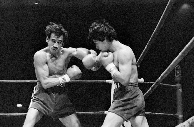 Richard Steele's first major fight was between Carlos Zarate and Alfonso Zamora in 1977 Photo Credit: Boxrec
