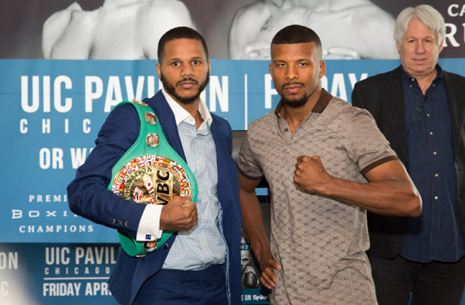 Badou Jack won a World Title at his first attempt. Photo Credit: Boxing News