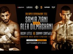Sam Cantwell and Ricky Little will face off for the Southern Area title on the undercard of Alex Dilmaghani's European title tilt on September 15 Photo Credit: Hennessy Sports