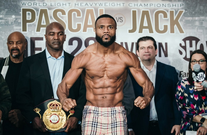Jean Pascal during fight week of his victory over Badou Jack. Photo Credit: Boxing Scene