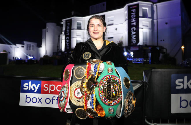 Taylor retained her undisputed world Lightweight crown Photo Credit: Mark Robinson/Matchroom Boxing