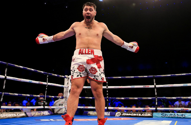 Allen has become one of the UK's most popular Heavyweights in recent years Photo Credit: Boxing Scene