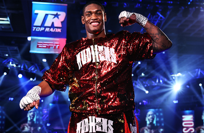 Jared Anderson returns for the third time inside 'The Bubble' on Sept 5 Photo Credit: Mikey Williams/Top Rank