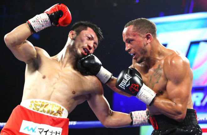 Rob Brant stunned Ryota Murata to become WBA Middleweight champion in 2018 before losing the rematch Photo Credit: Top Rank Boxing