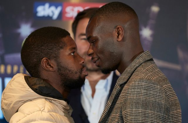 Chris Kongo challenges Luther Clay for his WBO Global Welterweight title on Saturday Photo Credit: Matchroom Boxing