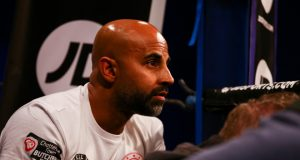 Dave Coldwell has joined Dillian Whyte's corner for his clash with Alexander Povetkin on Saturday Photo Credit: Matchroom Boxing