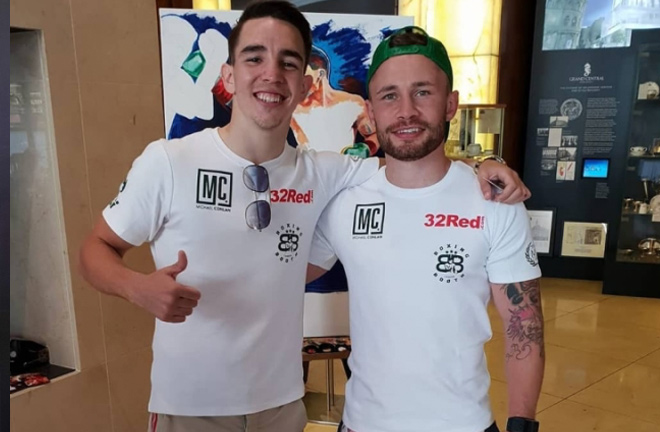 Michael Conlan and Carl Frampton will be the main and co-main event come Saturday night. Photo Credit: Boxing Scene