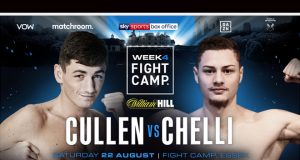Jack Cullen will collide with Zak Chelli on the final Matchroom Fight Camp on August 22 Photo Credit: Matchroom Boxing