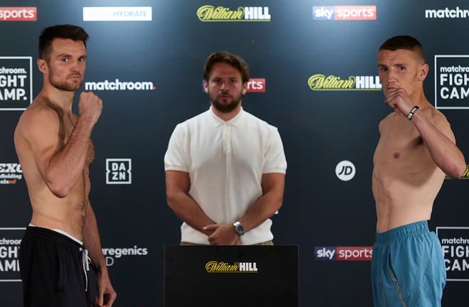Fowler clashes with Adam Harper on Friday Photo Credit: Mark Robinson/Matchroom Boxing