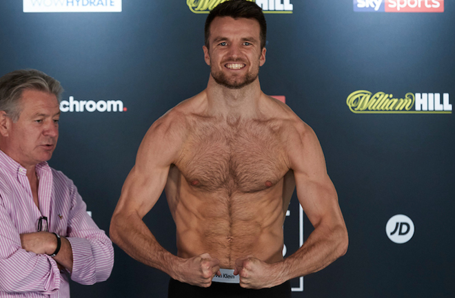 Anthony Fowler is aiming to become British champion by the end of the year Photo Credit: Mark Robinson/Matchroom Boxing