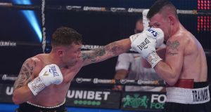 Carl Frampton halted Darren Traynor inside seven rounds at York Hall on Saturday Photo Credit: Queensberry Promotions