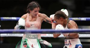 Harper showed her steel in a thrilling back and forth contest Photo Credit: Mark Robinson/Matchroom Boxing