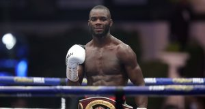 Kongo ripped away the WBO Global Welterweight title Photo Credit: Mark Robinson/Matchroom Boxing