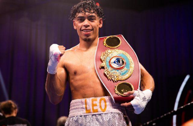 Angelo Leo was crowned WBO World Super-Bantamweight champion after beating Tramaine Williams on Saturday Photo Credit: Amanda Westcott/Showtime