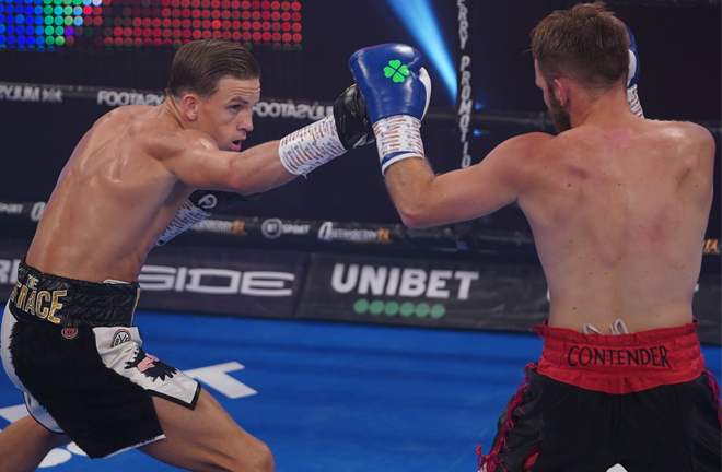 Dennis McCann became just the second man to stop Brett Fidoe earlier this month Photo Credit: Queensberry Promotions