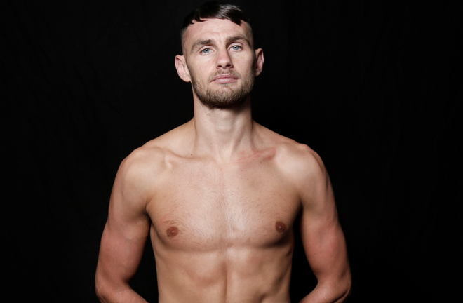 Sean McComb will step down to 135lbs after facing Siar Ozgul Photo Credit: MTK Global