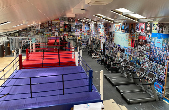 Inside the new state of the art Peacock Gym in Epping
