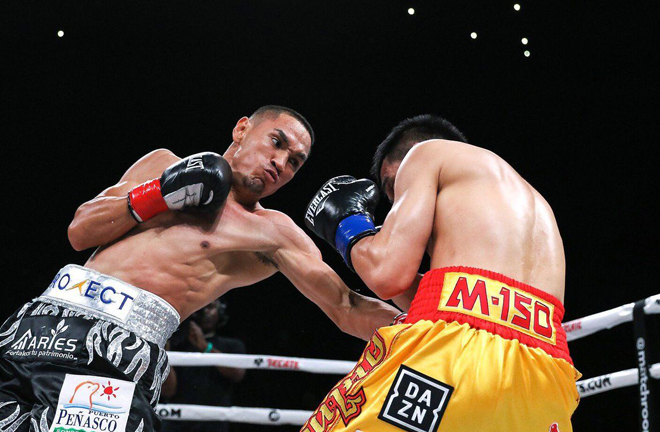 Rungvisai will be looking for a trilogy bout with WBC champion Juan Estrada Photo Credit: Matchroom Boxing