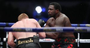 Povetkin produced a stunning fifth round KO of Dillian Whyte on Saturday Photo Credit: Mark Robinson/Matchroom Boxing