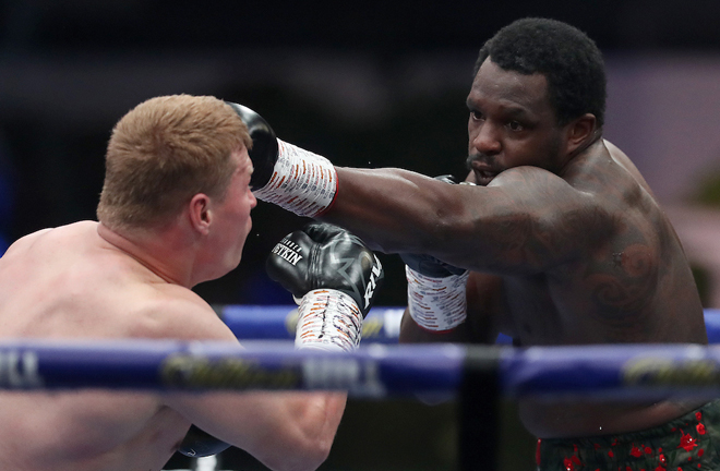 Whyte maintains he has no regrets after losing to Povetkin Photo Credit: Mark Robinson/Matchroom Boxing