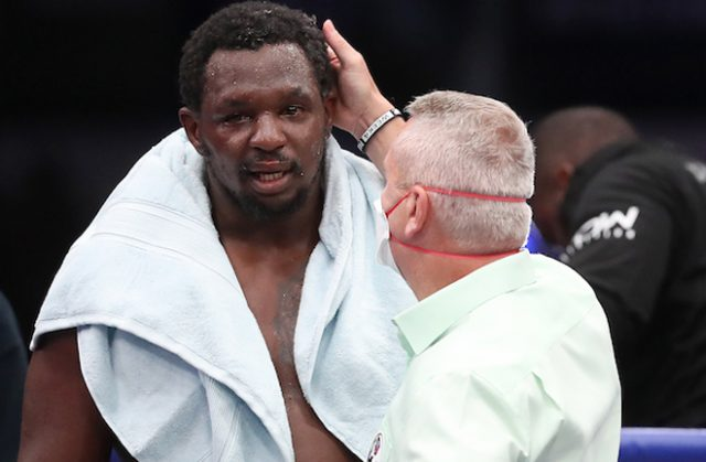 Dillian Whyte has vowed to gain revenge over Alexander Povetkin in rematch later this year Photo Credit: Mark Robinson/Matchroom Boxing