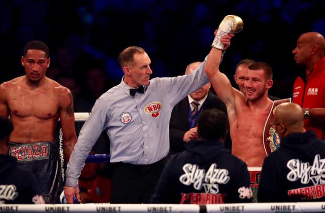 Williams stopped Alantez Fox inside five rounds in December Photo Credit: Scott Rawsthorne / MTK Global