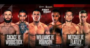 Liam Williams defends his British title against Andrew Robinson on Oct 10 live on BT Sport Photo Credit: Queensberry Promotions