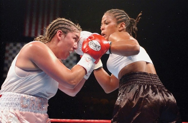 Christy regrets not fighting until the end against Laila Ali, the daughter of Muhammad Ali. Photo Credit: RingTV