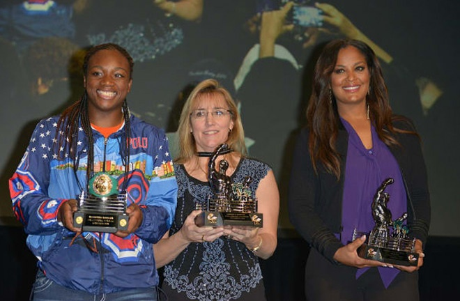 Claressa Shields, Martin and Laila Ali. Three of the best female fighters ever. Photo Credit: The Shadow League