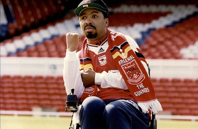 Watson was left in a wheelchair for six years after his final fight in 1991. Photo Credit: The Daily Mail
