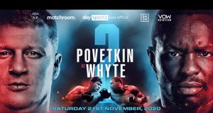 Alexander Povetkin will face Dillian Whyte in an immediate rematch on November 21st Photo Credit: Matchroom Boxing