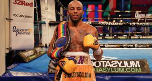 Yarde has set up a showdown with Lyndon Arthur who also beat Spelman in July Photo Credit: Round 'N' Bout Media / Queensberry Promotions