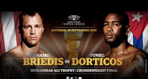 Mairis Briedis will face Yuniel Dorticos in the WBSS Cruiserweight final in Munich on September 26 Photo Credit: WBSS