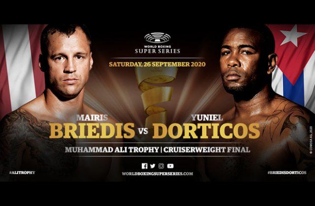 Mairis Briedis will face Yuniel Dorticos in the WBSS Cruiserweight final in Munich on September 26 Photo Credit: WBSS
